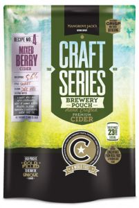 Mangrove Jack's Mixed Berry Cider Pouch