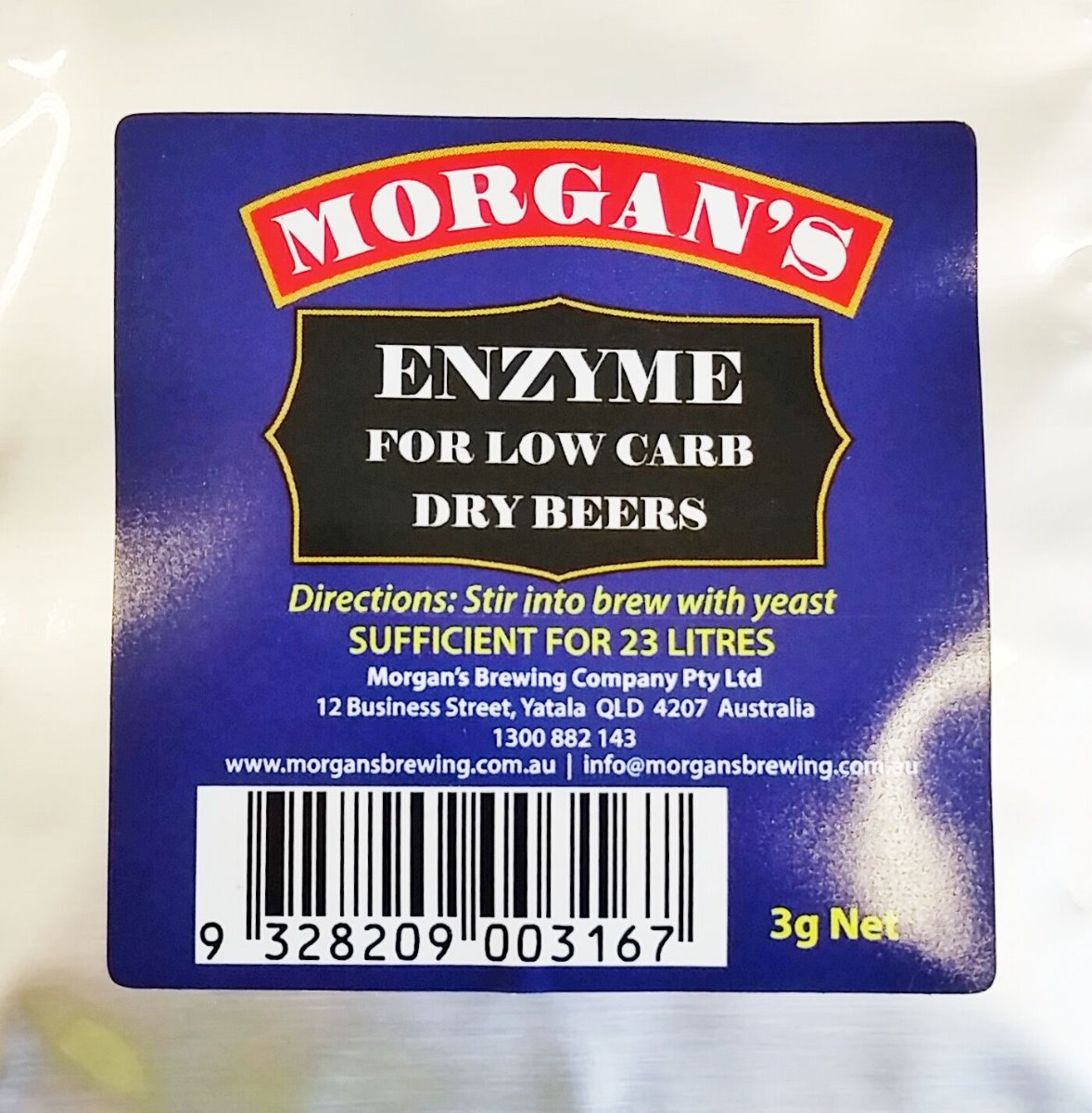 Morgan's Low Carb Enzyme