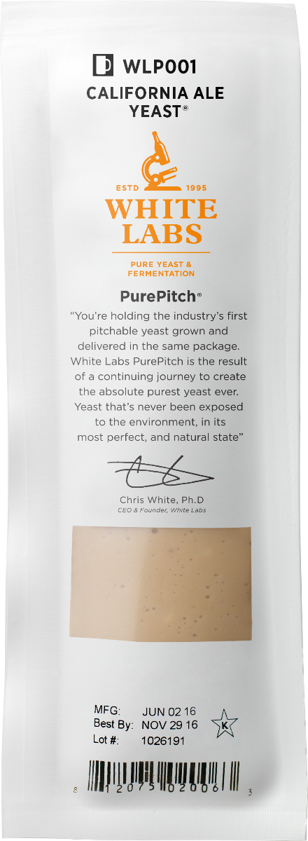 White Labs WLP099 Super High Gravity Ale Yeast