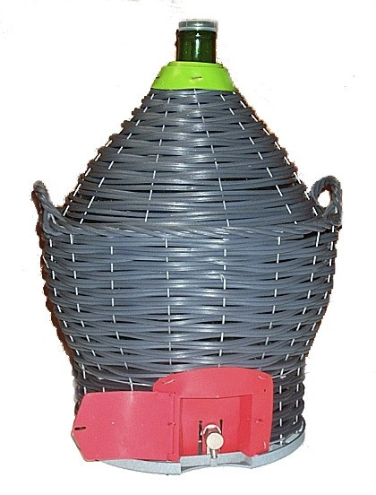 54 Litre Demijohn With Tap
